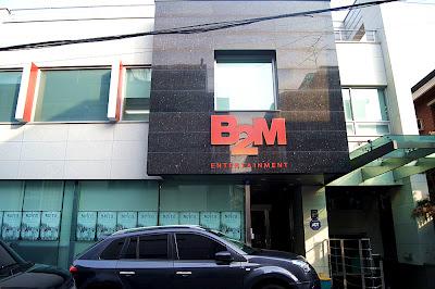 [News] 30/04/2012 - Young Saeng & Kyu Jong - La maison de disque B2M Enterntainement.  B2m1